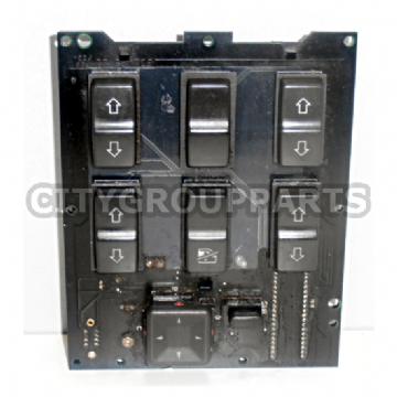RANGE ROVER P38  COMPLETE CENTRE WINDOW CONTROL PANEL NON SUNROOF